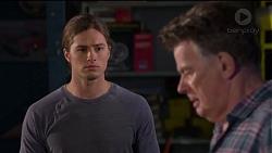 Tyler Brennan, Russell Brennan in Neighbours Episode 7203