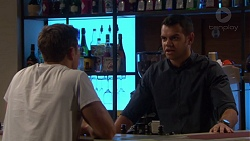 Aaron Brennan, Nate Kinski in Neighbours Episode 7204