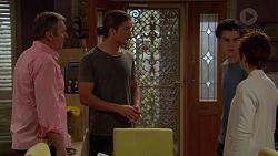 Karl Kennedy, Tyler Brennan, Ben Kirk, Susan Kennedy in Neighbours Episode 7204
