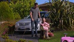 Tyler Brennan, Sonya Mitchell, Nell Rebecchi in Neighbours Episode 7204