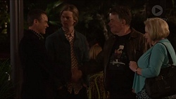 Paul Robinson, Daniel Robinson, Russell Brennan, Sheila Canning in Neighbours Episode 7205