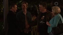 Paul Robinson, Daniel Robinson, Russell Brennan, Sheila Canning in Neighbours Episode 7205