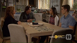 Terese Willis, Brad Willis, Imogen Willis, Josh Willis in Neighbours Episode 7206