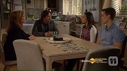 Terese Willis, Brad Willis, Imogen Willis, Josh Willis in Neighbours Episode 7206