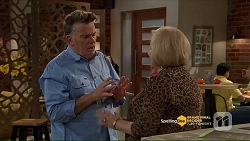 Russell Brennan, Sheila Canning in Neighbours Episode 7206