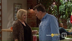 Sheila Canning, Russell Brennan in Neighbours Episode 7206