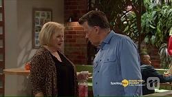 Sheila Canning, Russell Brennan in Neighbours Episode 7206