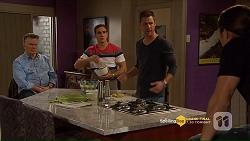 Russell Brennan, Aaron Brennan, Mark Brennan, Tyler Brennan in Neighbours Episode 7207
