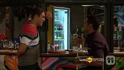 Aaron Brennan, Nate Kinski in Neighbours Episode 7207