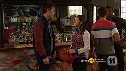 Josh Willis, Imogen Willis, Aaron Brennan, Nate Kinski in Neighbours Episode 7207
