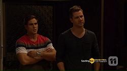 Aaron Brennan, Mark Brennan in Neighbours Episode 7207