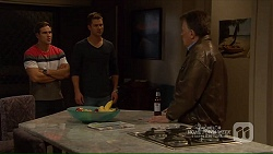 Aaron Brennan, Mark Brennan, Russell Brennan in Neighbours Episode 7208