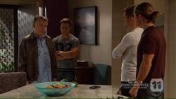 Russell Brennan, Aaron Brennan, Mark Brennan, Tyler Brennan in Neighbours Episode 7208