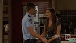 Mark Brennan, Paige Novak in Neighbours Episode 7208