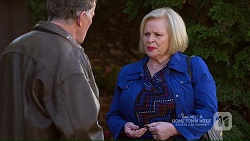 Russell Brennan, Sheila Canning in Neighbours Episode 7208