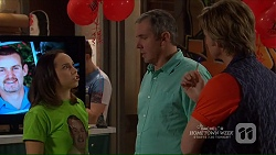 Imogen Willis, Karl Kennedy, Daniel Robinson in Neighbours Episode 7208