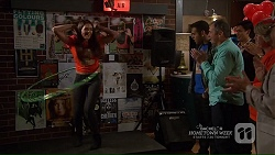 Paige Smith, Nate Kinski, Karl Kennedy in Neighbours Episode 7208