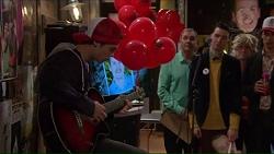 Ben Kirk, Karl Kennedy in Neighbours Episode 7209