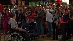 Toadie Rebecchi, Ben Kirk, Nell Rebecchi, Sonya Mitchell, Stonie Rebecchi, Darren Purchese, Amy Williams, Daniel Robinson in Neighbours Episode 7209