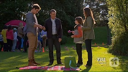 Kyle Canning, Paul Robinson, Jimmy Williams, Amy Williams in Neighbours Episode 7210