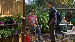 Aaron Brennan, Nate Kinski in Neighbours Episode 7210