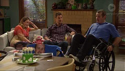 Sonya Mitchell, Mark Brennan, Toadie Rebecchi in Neighbours Episode 7211