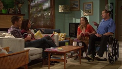 Mark Brennan, Paige Novak, Sonya Mitchell, Toadie Rebecchi in Neighbours Episode 7211