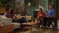 Mark Brennan, Paige Smith, Sonya Rebecchi, Toadie Rebecchi in Neighbours Episode 7211