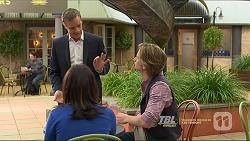 Paul Robinson, Imogen Willis, Daniel Robinson in Neighbours Episode 7212