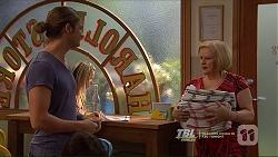 Tyler Brennan, Sheila Canning in Neighbours Episode 7212
