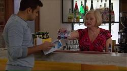 Nate Kinski, Sheila Canning in Neighbours Episode 7213