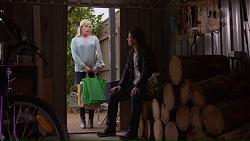 Lauren Turner, Brad Willis in Neighbours Episode 7213
