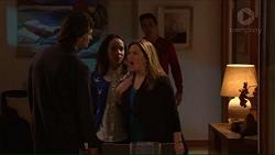 Brad Willis, Imogen Willis, Terese Willis, Josh Willis in Neighbours Episode 7213