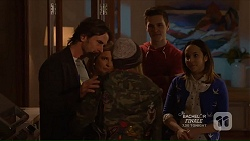Brad Willis, Terese Willis, Piper Willis, Josh Willis, Imogen Willis in Neighbours Episode 7214