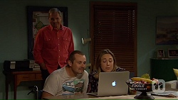 Karl Kennedy, Toadie Rebecchi, Sonya Mitchell in Neighbours Episode 7214
