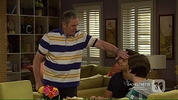 Karl Kennedy, Nate Kinski, Ben Kirk in Neighbours Episode 7215