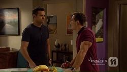 Nate Kinski, Aaron Brennan in Neighbours Episode 7215