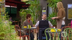 Susan Kennedy, Toadie Rebecchi, Lauren Turner in Neighbours Episode 7215