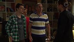 Ben Kirk, Susan Kennedy, Karl Kennedy, Tyler Brennan in Neighbours Episode 7216