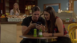 Amber Turner, Tyler Brennan, Paige Smith in Neighbours Episode 7216