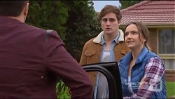 Liam Barnett, Kyle Canning, Amy Williams in Neighbours Episode 7217
