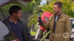 Lenny Macey, Mark Brennan in Neighbours Episode 7217