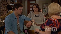 Kyle Canning, Naomi Canning, Sheila Canning in Neighbours Episode 7217