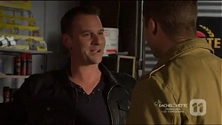 Lucas Fitzgerald, Mark Brennan in Neighbours Episode 7217
