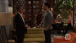 Paul Robinson, Liam Barnett in Neighbours Episode 7217