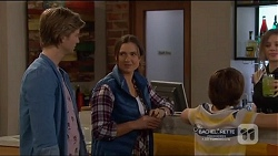 Daniel Robinson, Amy Williams, Jimmy Williams in Neighbours Episode 7217