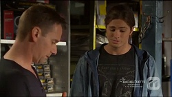 Lucas Fitzgerald, Tyler Brennan in Neighbours Episode 7217