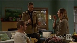 Toadie Rebecchi, Mark Brennan, Sonya Mitchell in Neighbours Episode 7217