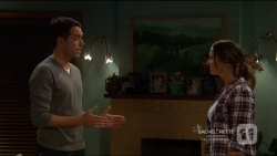 Liam Barnett, Amy Williams in Neighbours Episode 7217