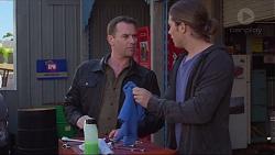Lucas Fitzgerald, Tyler Brennan in Neighbours Episode 7218